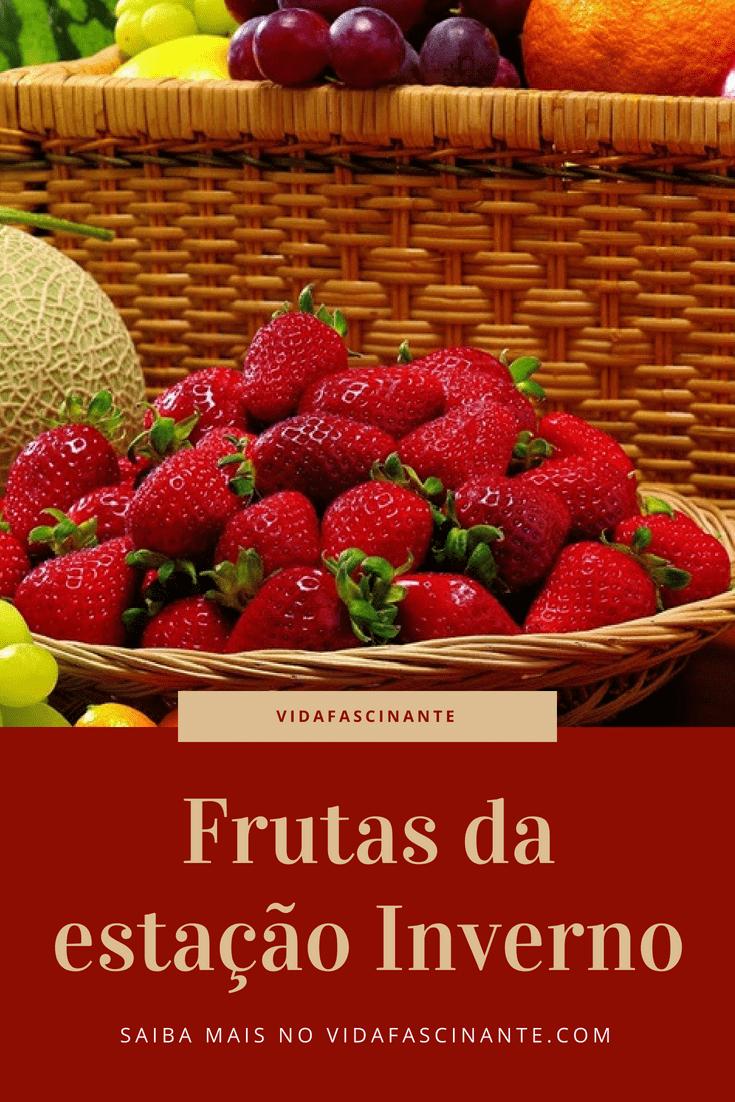 frutas da estação inverno